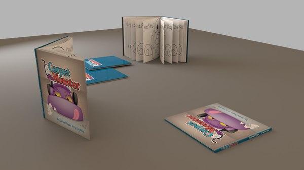 books hd obj