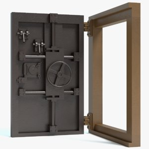 bunker door 3d 3ds
