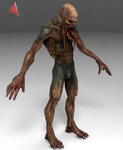 3d demon moster