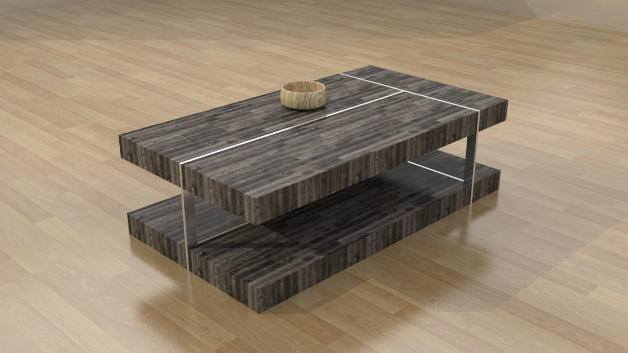 modern coffee table 3d max