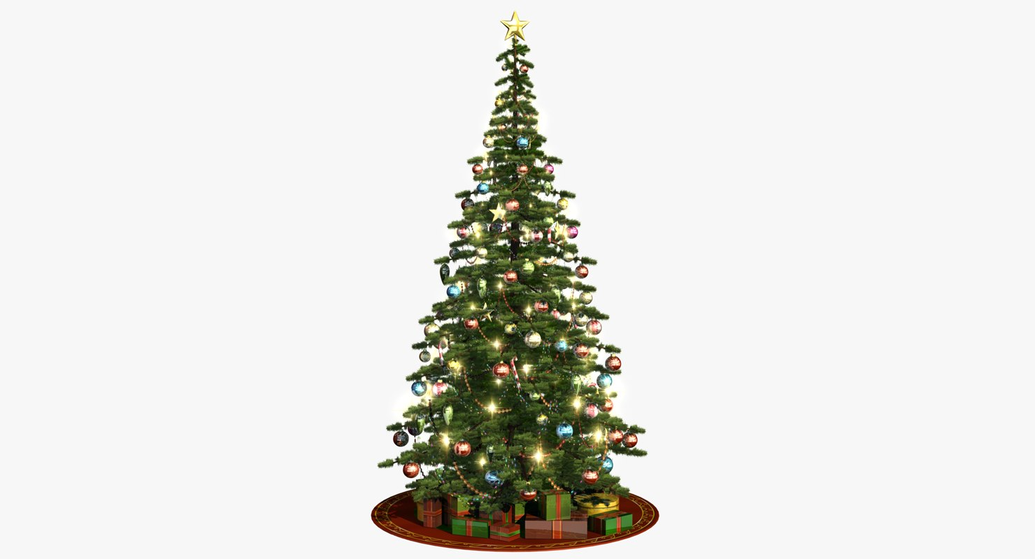 christmas tree obj