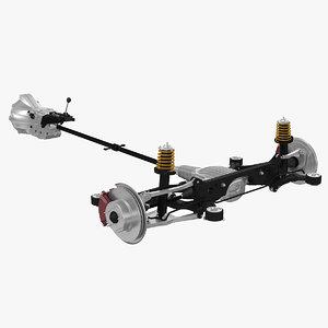rwd gearbox 3d model