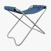 folding chair 3d max