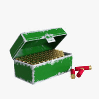 ammo box mtm rifle 3d max