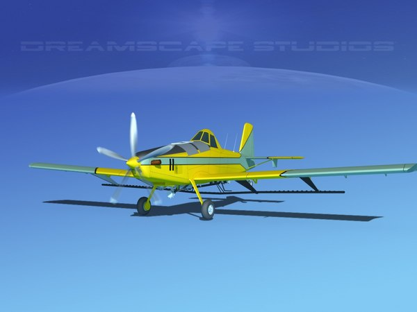 3d propellers air tractor at-802 model