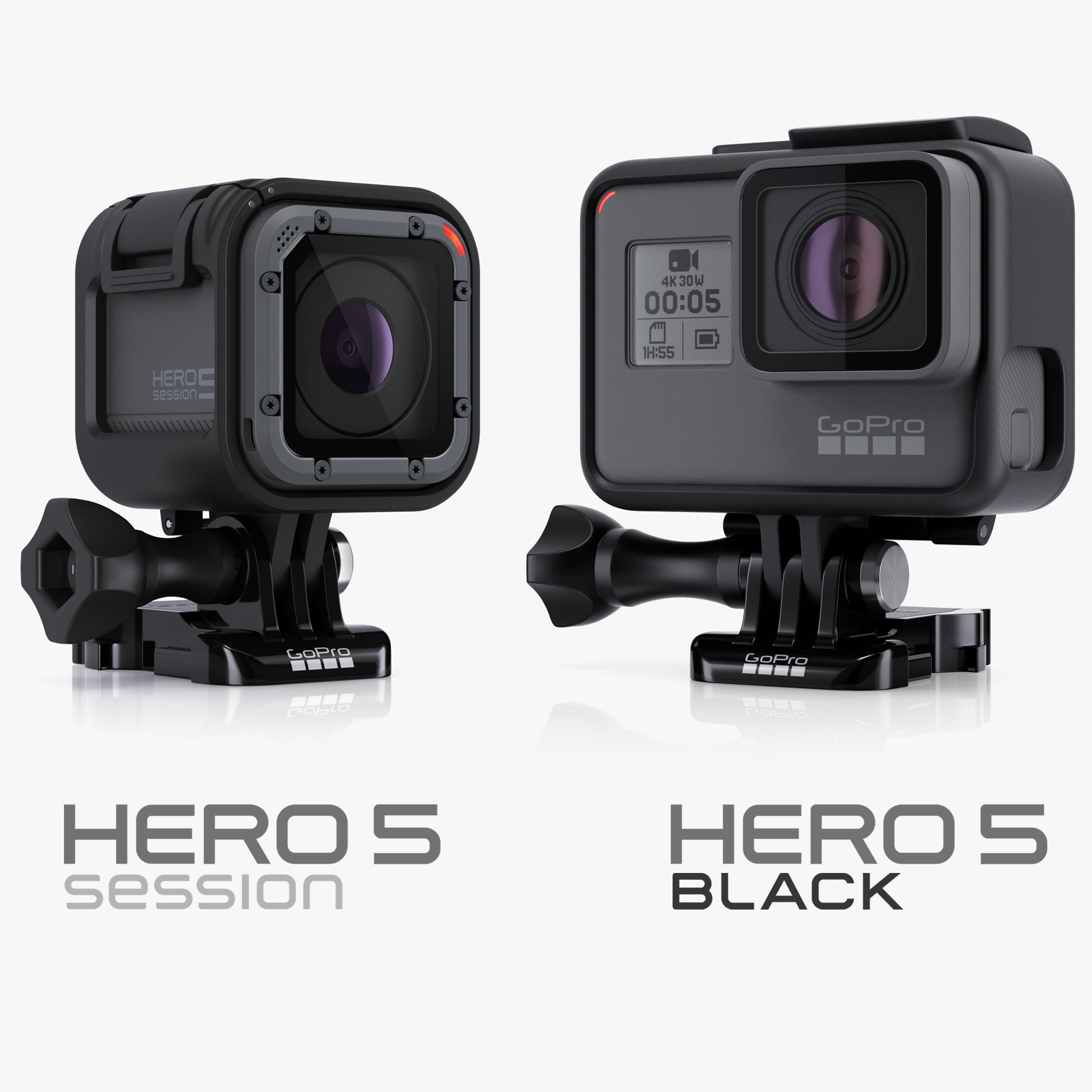 hero5 black session 3d model