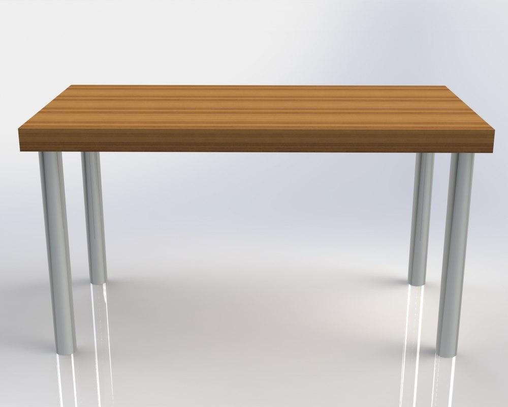 teak table 3ds