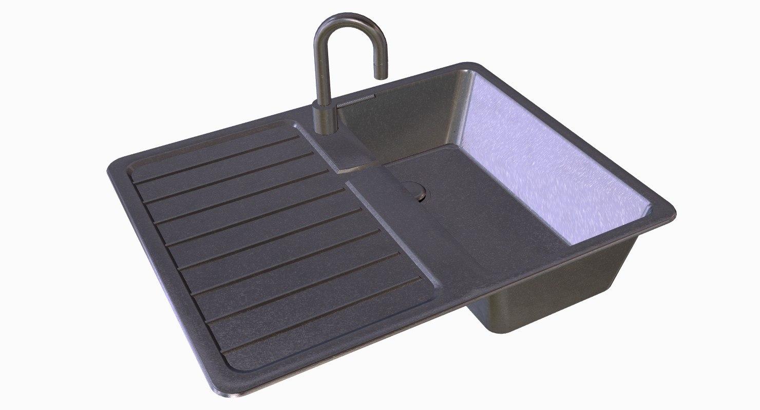 blend stainless steel kitchen sink