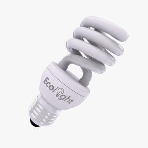 3d compact fluorescent lamp v3