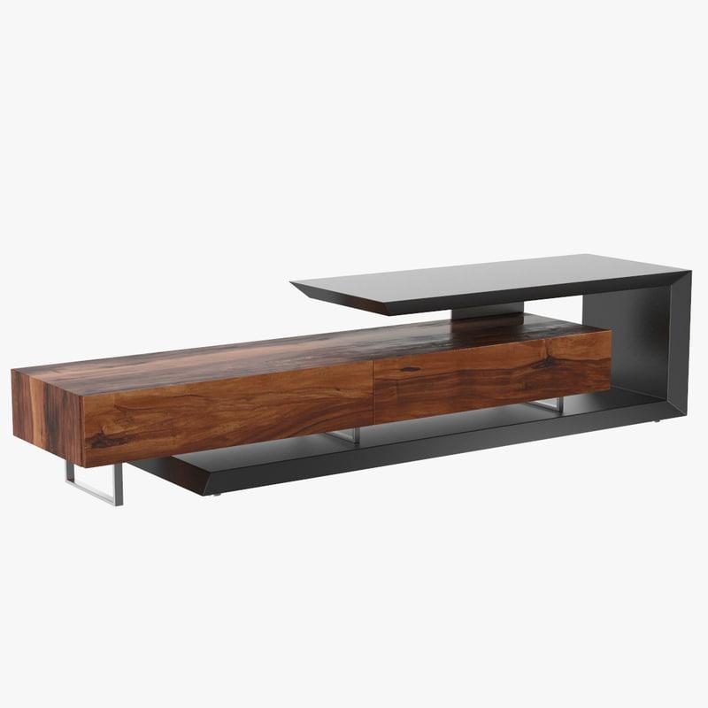 link tv cabinet 3d model