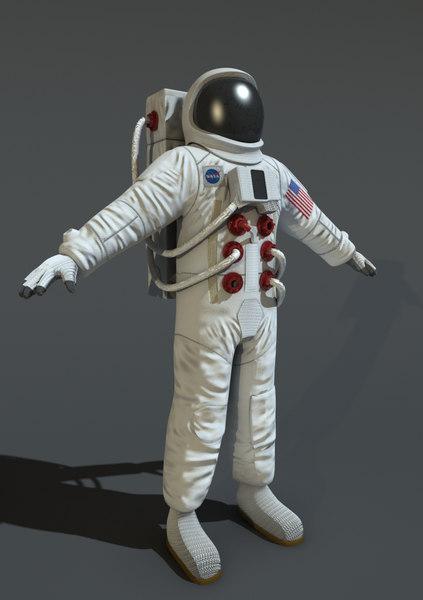 3d astronauts