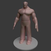 monster template 3d max