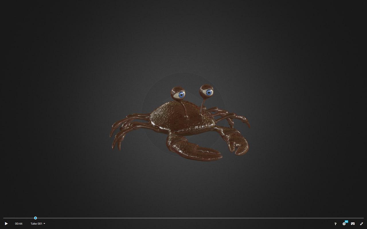 crab x