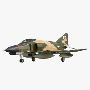 f-4 phantom 433d tfs 3d max