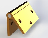hinge door 3d 3ds