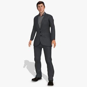 3d steve male model