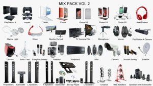 3d mix pack vol 2
