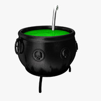 max halloween witch pot