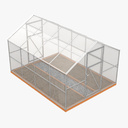 Greenhouse 3D models