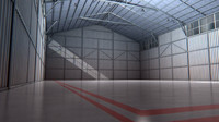 Aircraft Hangar Interior