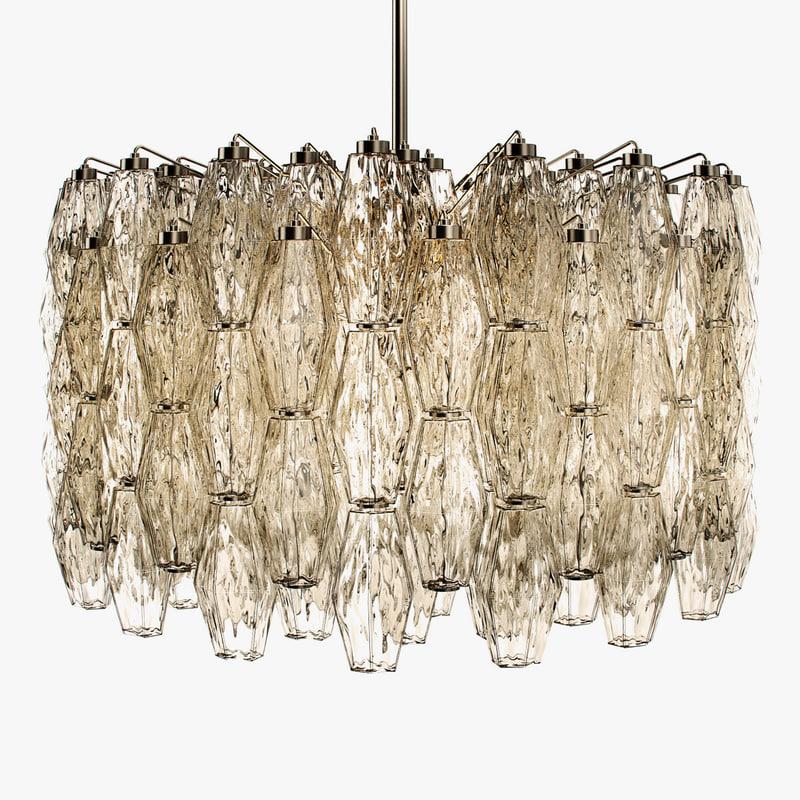 3d venini - polyhedral chandelier