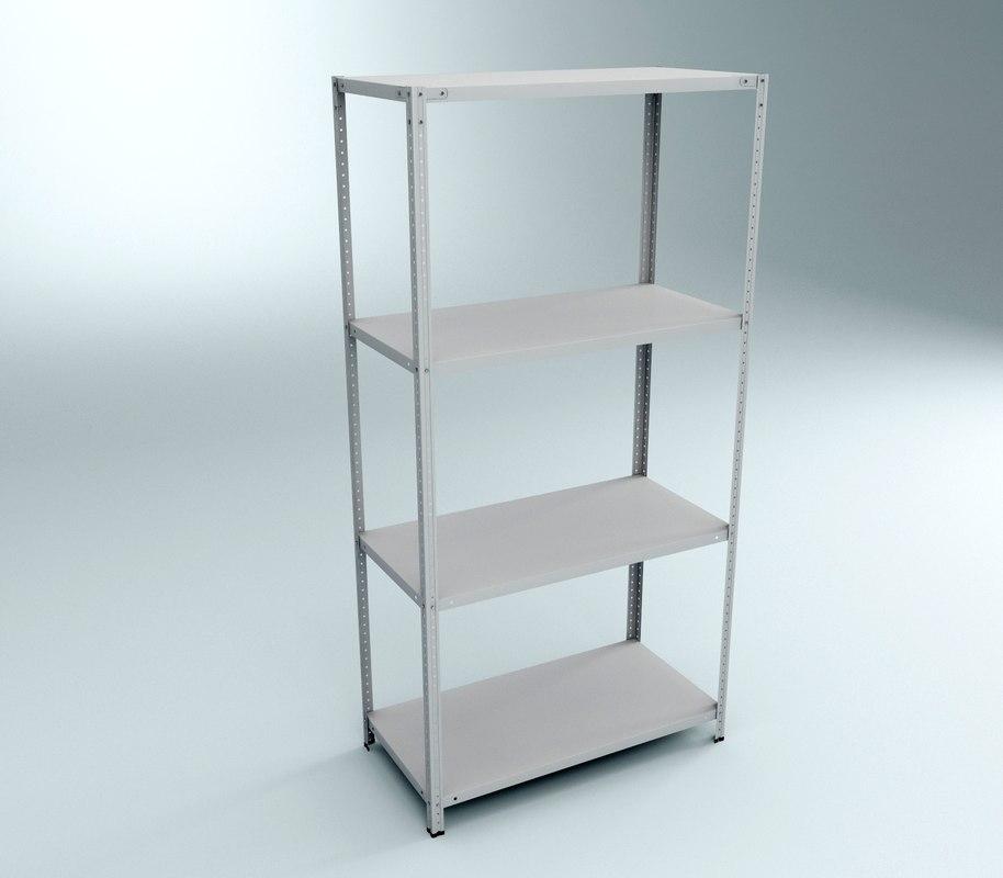 rack 3d model