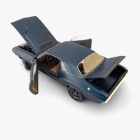 3d dodge challenger 1971 model