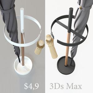 modern umbrella 3d obj