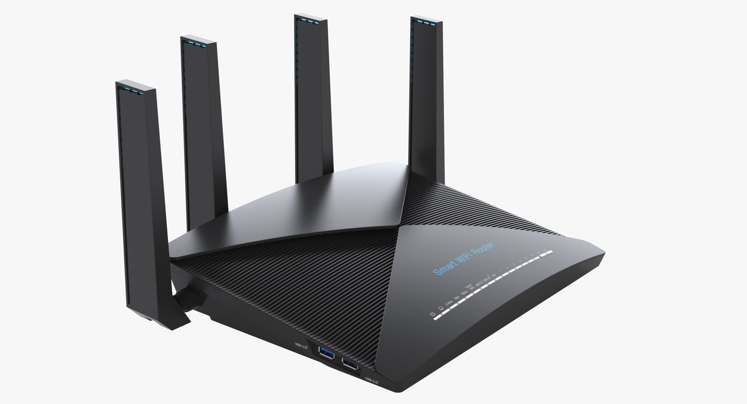 3d photoreal smart router