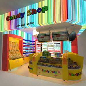 candy shop store max
