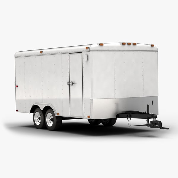 3d 2015 trailer box model