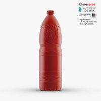 3d nestle water bottle model