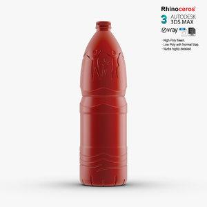 3d nestle water bottle model