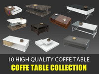 Coffe Table 3D Collection