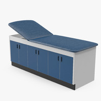 3d model laminate exam table