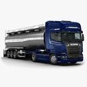 tank truck 3D models