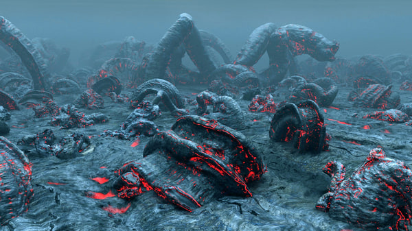 hellish planet 3d model