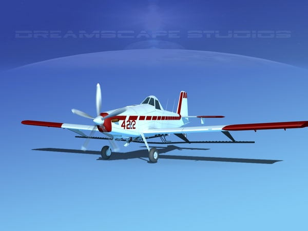 propellers air tractor at-802 3d model