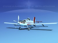 propellers air tractor at-802 3d dwg