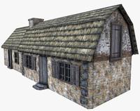 stone building 3ds