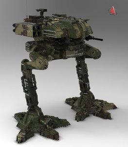 army robot robo 3ds
