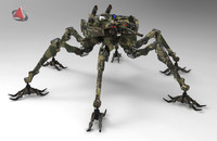 spider army robot