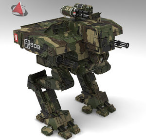 robot robo 3d 3ds