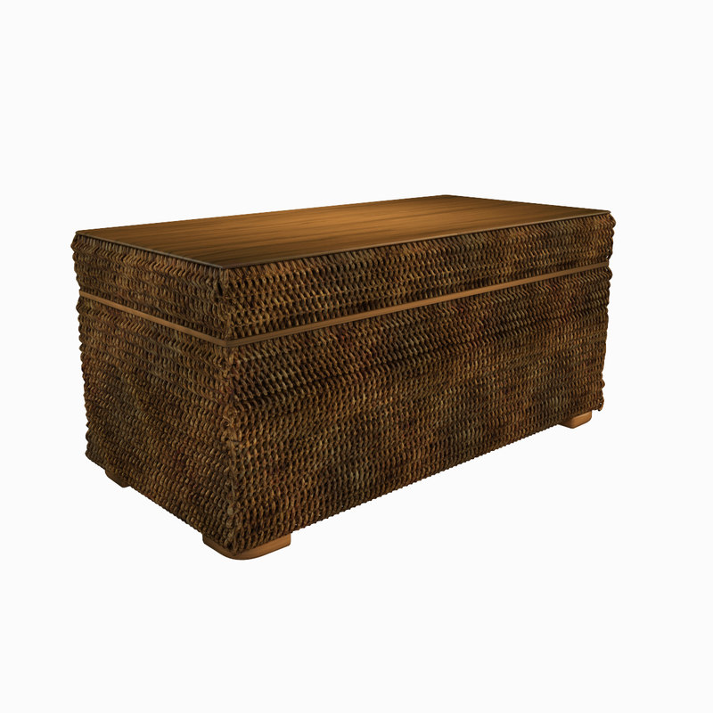 table woven storage 3d model