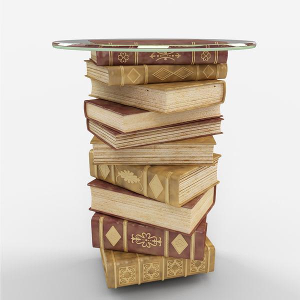 table deja sculptural 3d max