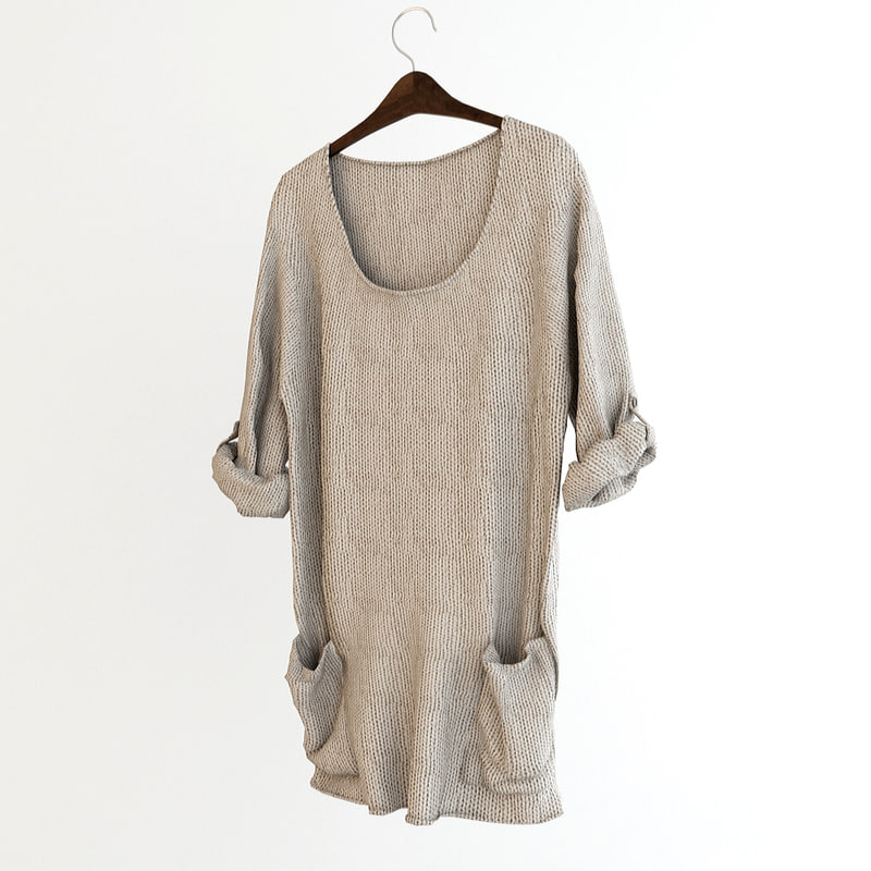 sweater 3d model