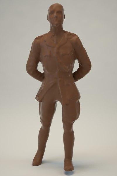 statue games 3d fbx