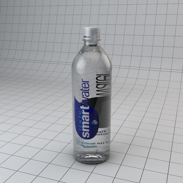 3d smart water bottle