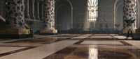 great hall thrones 3d model