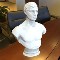 3d sculpture bust model